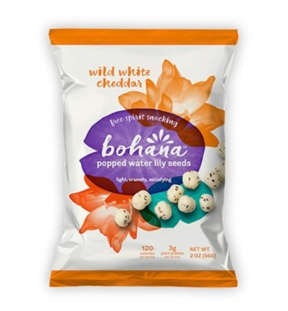 Bohana Wild White Cheddar, 6 Pack | As Seen On Shark Tank | Gluten-Free High-Protein All Natural Super Snack | Free Spirit Snacking: Non-GMO Verified, Light, Crunchy, Satisfying (2oz Bags, 6-Pack)